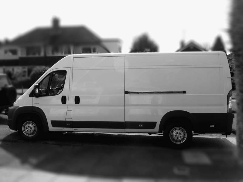 Large Citroen Relay Van
