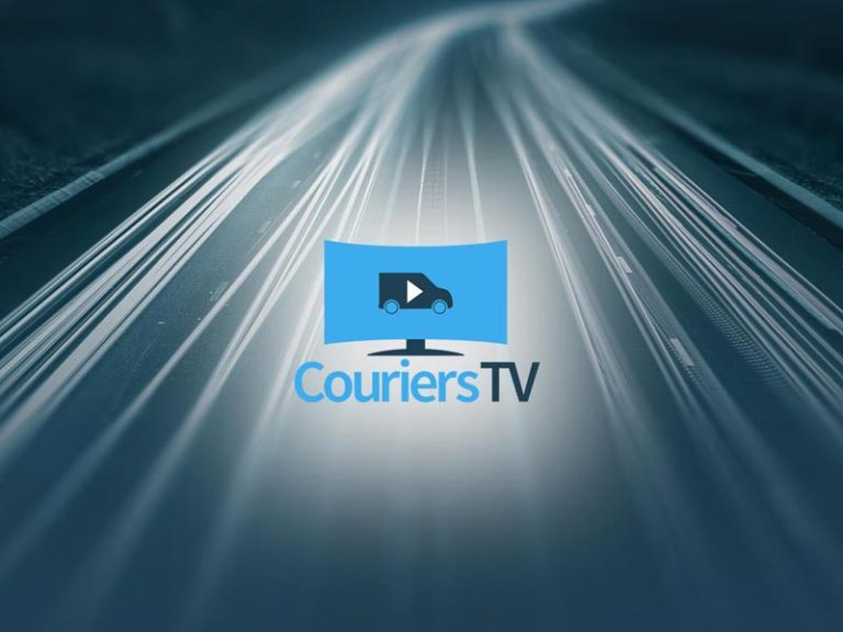 New Header background Couriers TV Logo