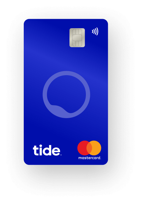 tide banking payment card