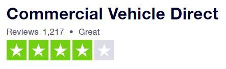 CVD insurance rating on Trustpilot