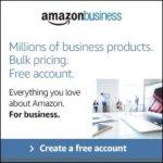 Amazon Business Account advertisement