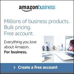 Amazon Business Account advertisement