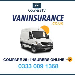 Couriers TV Van insurance