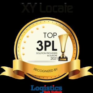 XY Locate Logistics Award Logo