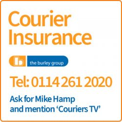 Burley Courier Insurance Advert